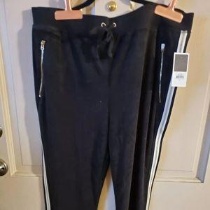 NWT Juicy Couture BLACK LABEL women's XL. Sweatpan